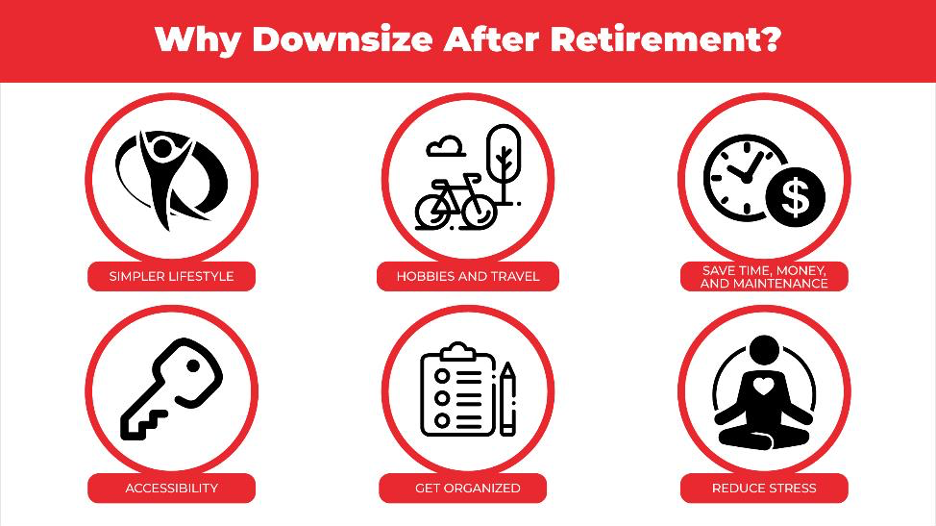 six reasons to downsize after retirement